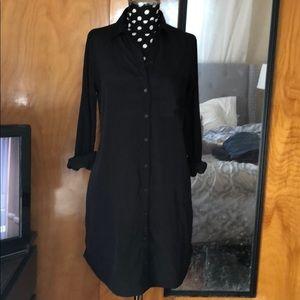 Abercrombie Black Shirt Dress: Small